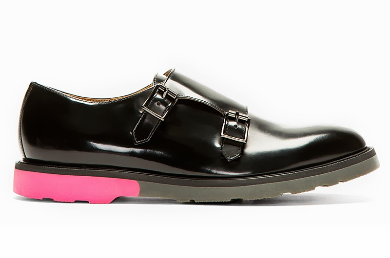 Paul Smith black mens shoes, Oki Ni, mens black derbys, Australia mens blog,
