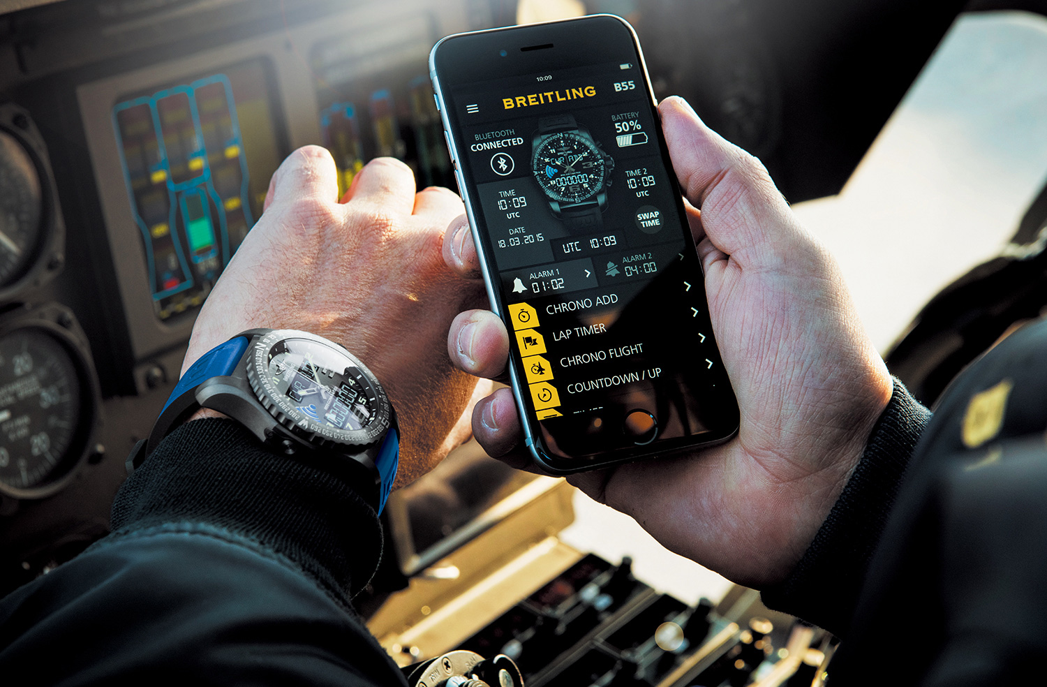 Breitling – Instruments for Professionals