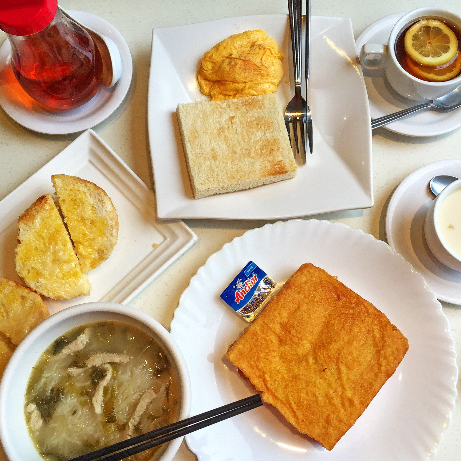 Hong Kong, breakfast