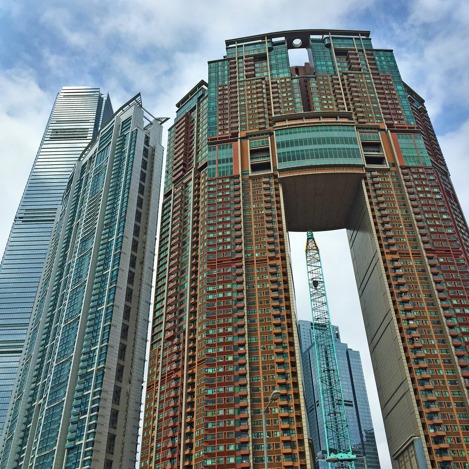 Hong Kong, skyscrappers,