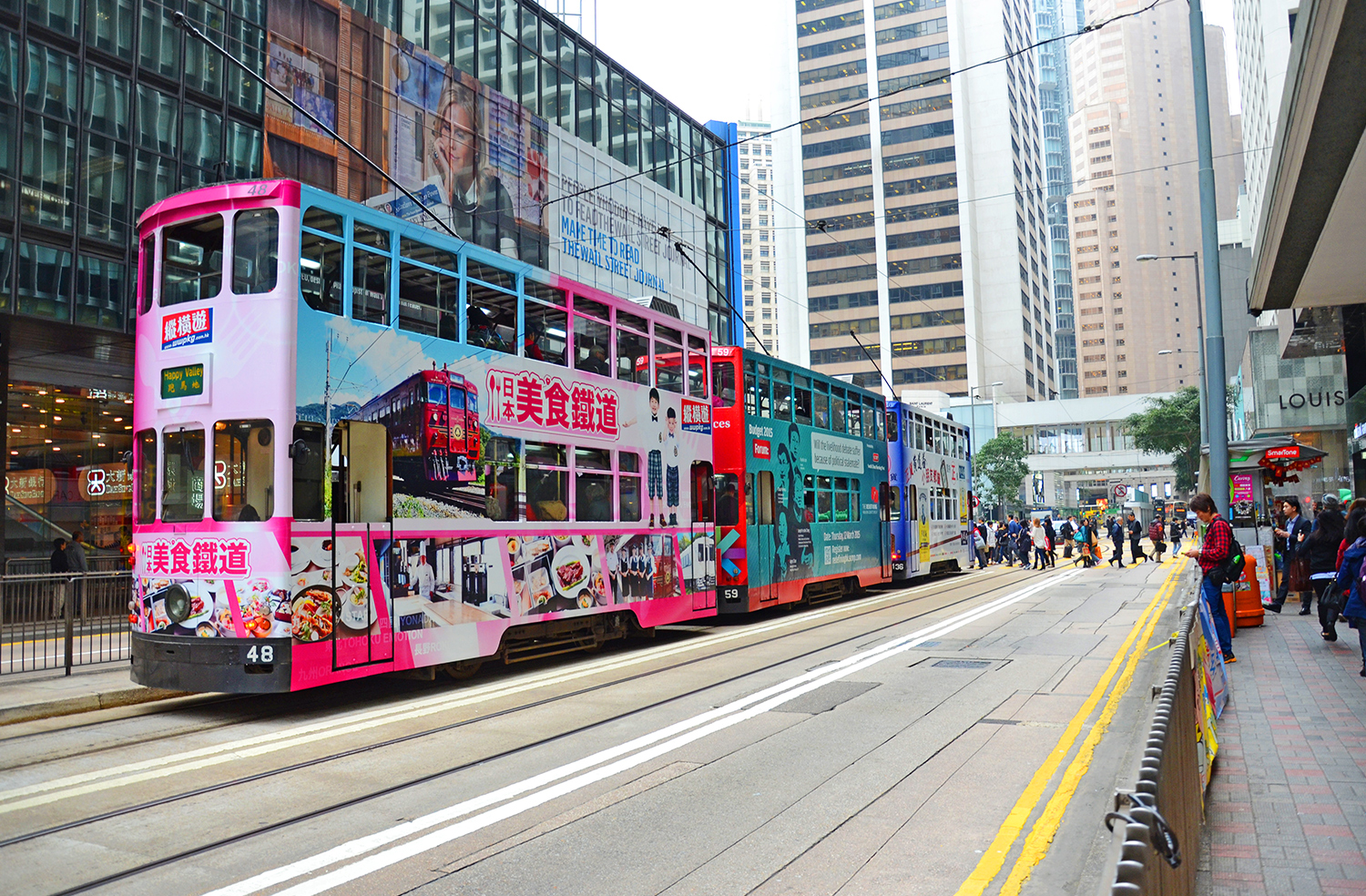 Hong Kong, tram, Australia travel blog