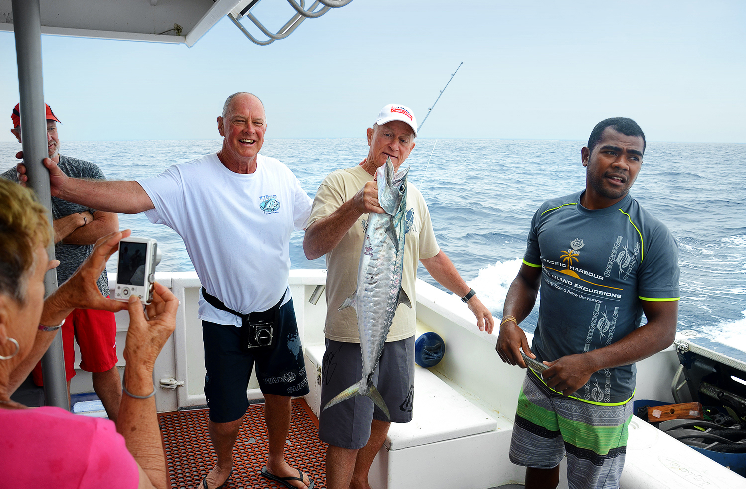 Fiji day trip, fishing, Spanish mackerel