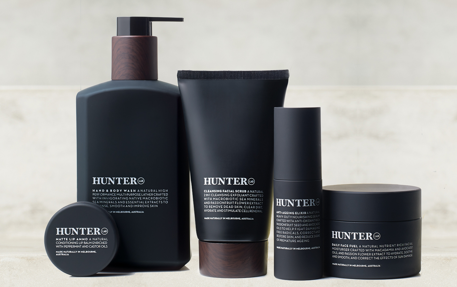 Hunter Lab Mens Skincare