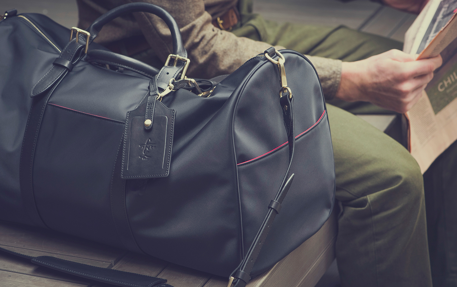 Stuart & Lau Mens Briefcases and Luggage