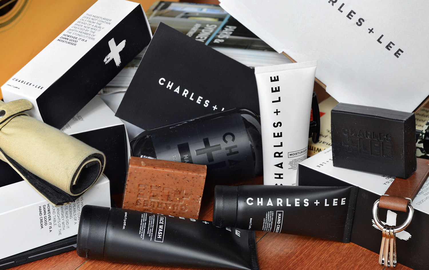 Charles + Lee Men's Skincare