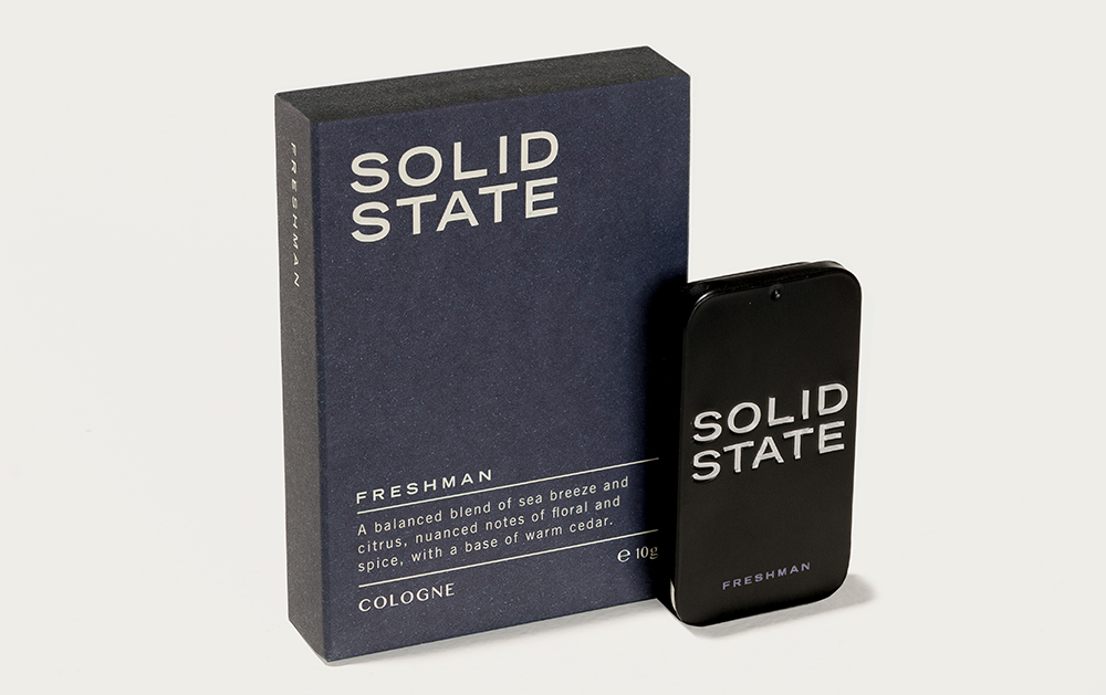 Solid State For Men, mens fragrance, Australia mens blog, Freshman