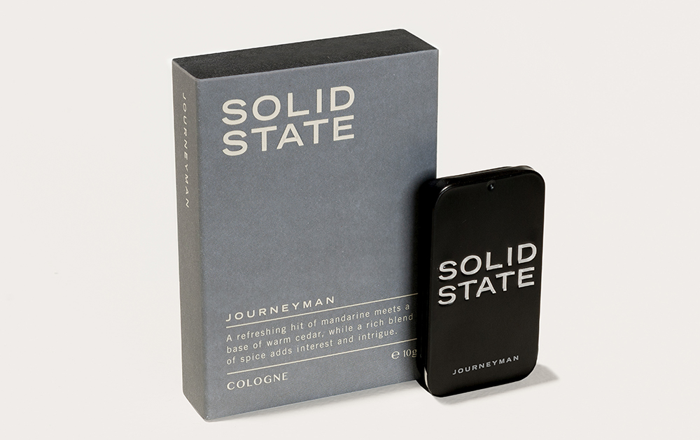 Solid State For Men, mens grooming product, Australia mens blog, Journeyman