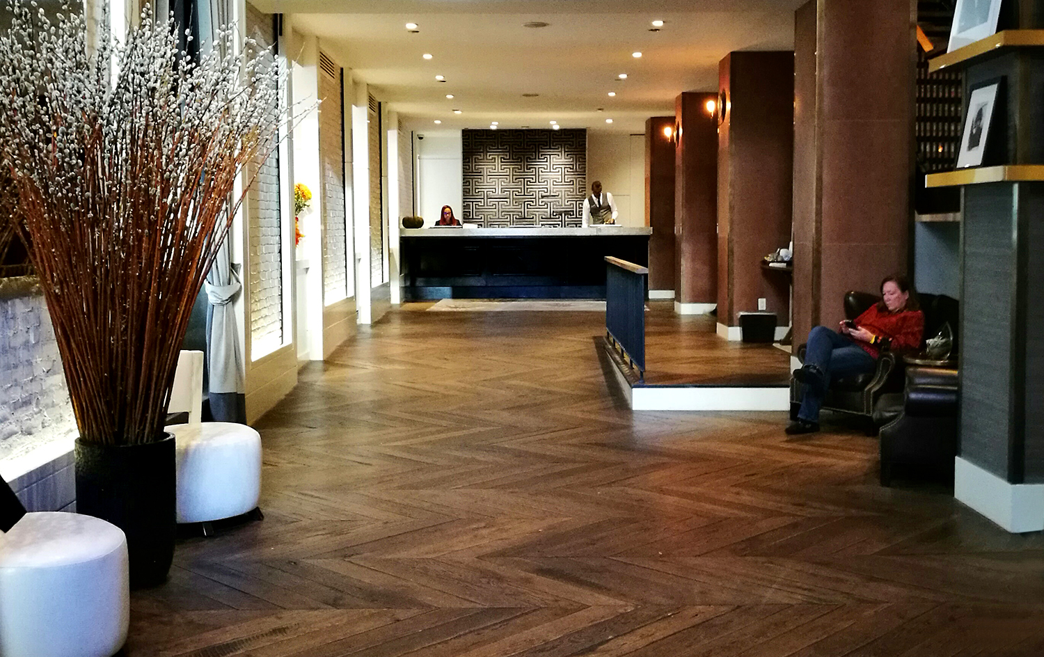 The Roger boutique hotel lobby, New York Hotel, Australia travel blog,