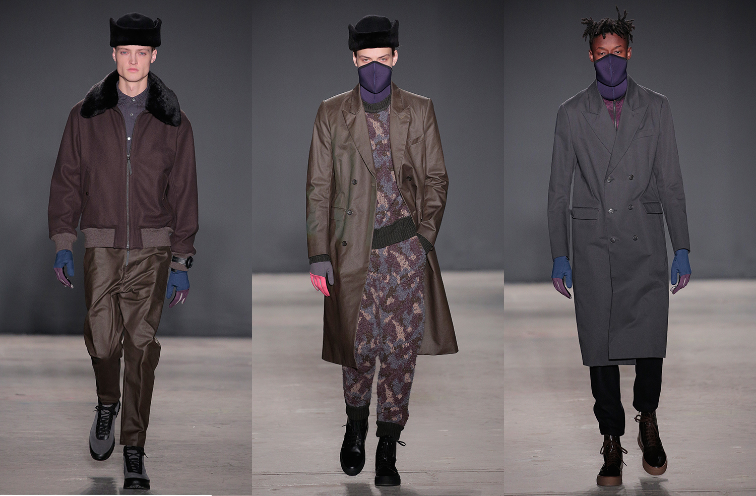 Robert Geller AW17, New York Fashion Week Men's AW17