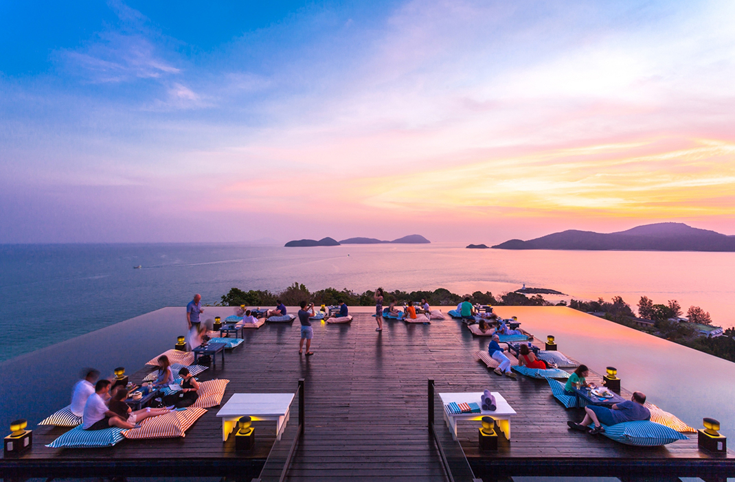 Sri Panwa, Phuket Hotel Resort, Rooftop bar, Baba Nest