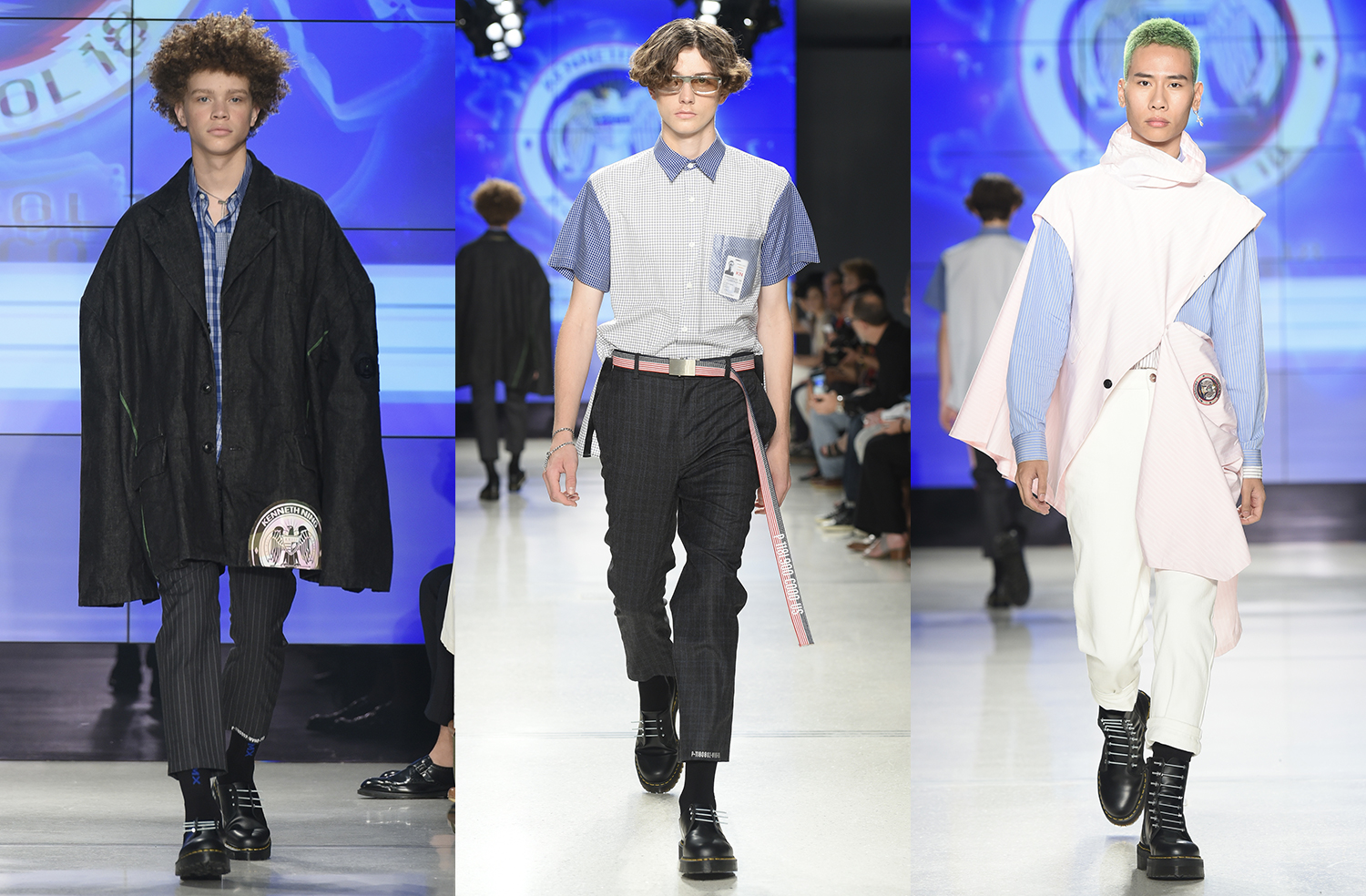 Kenneth Ning SS18, New York Fashion Week Mens