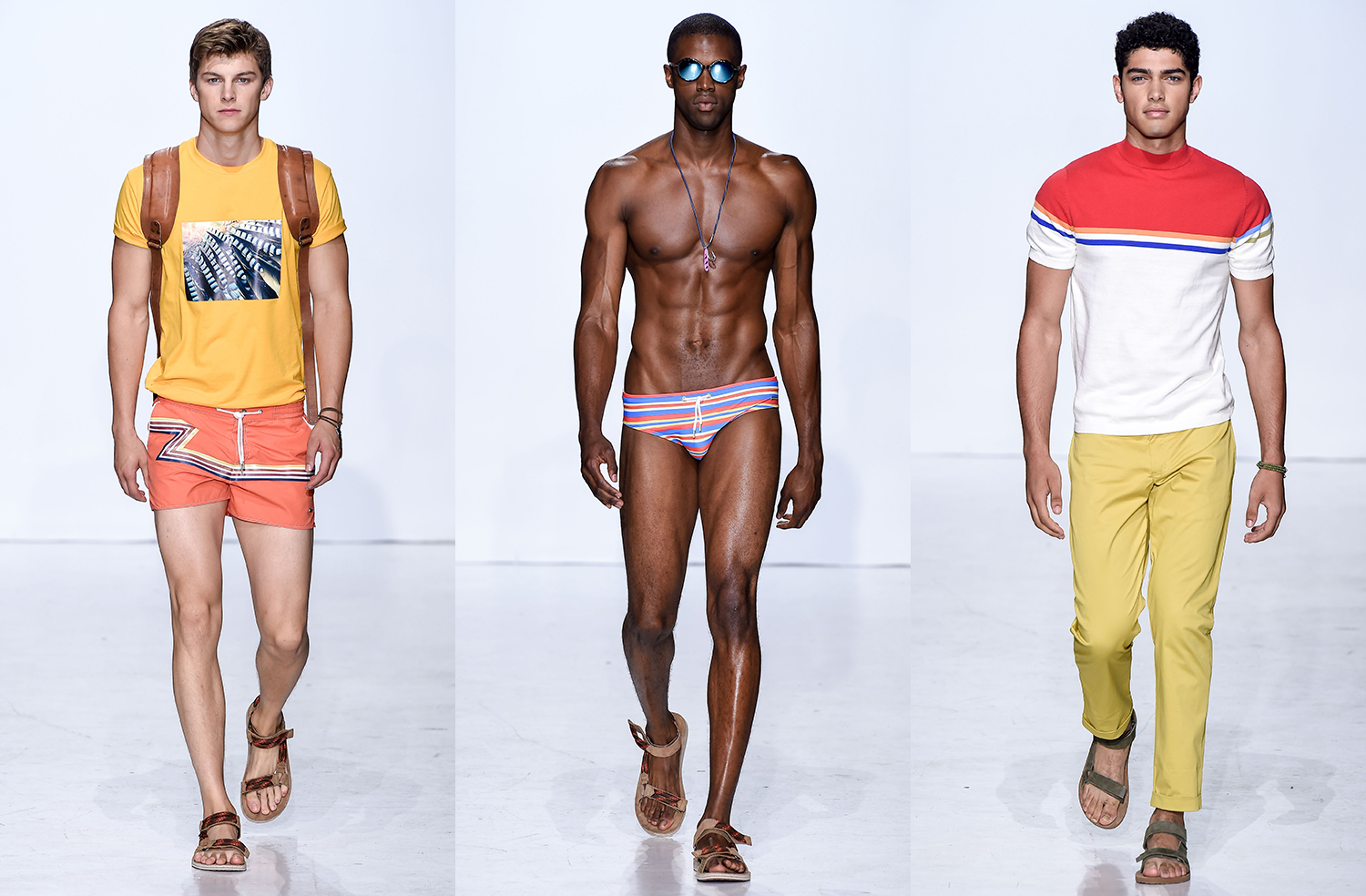 Parke & Ronen Spring Summer 2018, New York Fashion Week Men's