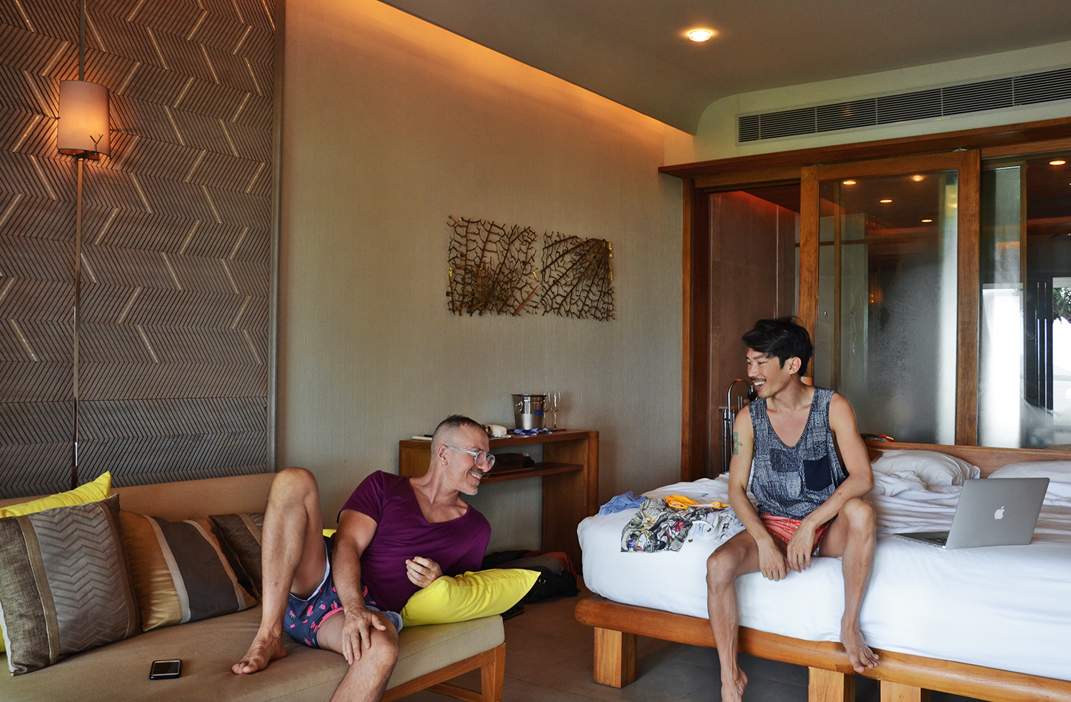 Sri Panwa Pool Suite West bedroom