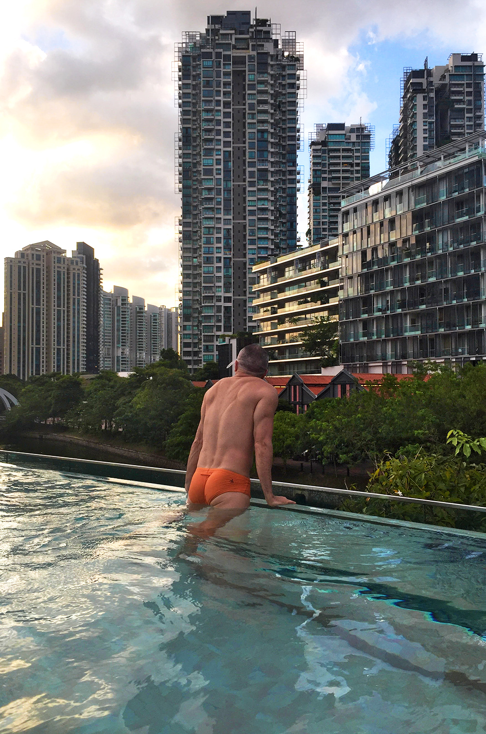 Warehouse Hotel, where to stay in singapore, glass infinity pool