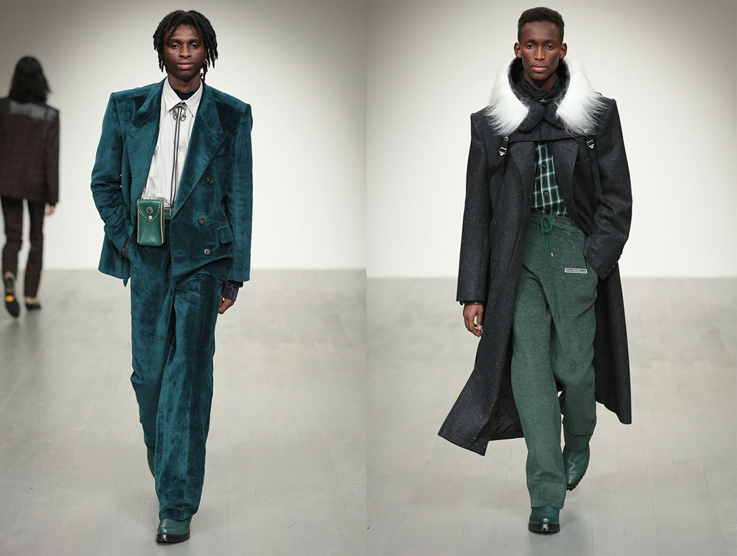John Lawrence Sullivan AW18, London Fashion Week Men's AW18
