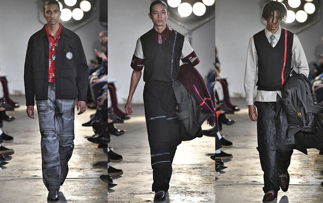 Xander Zhou Autumn Winter 2018, London Fashion Week Men's AW18