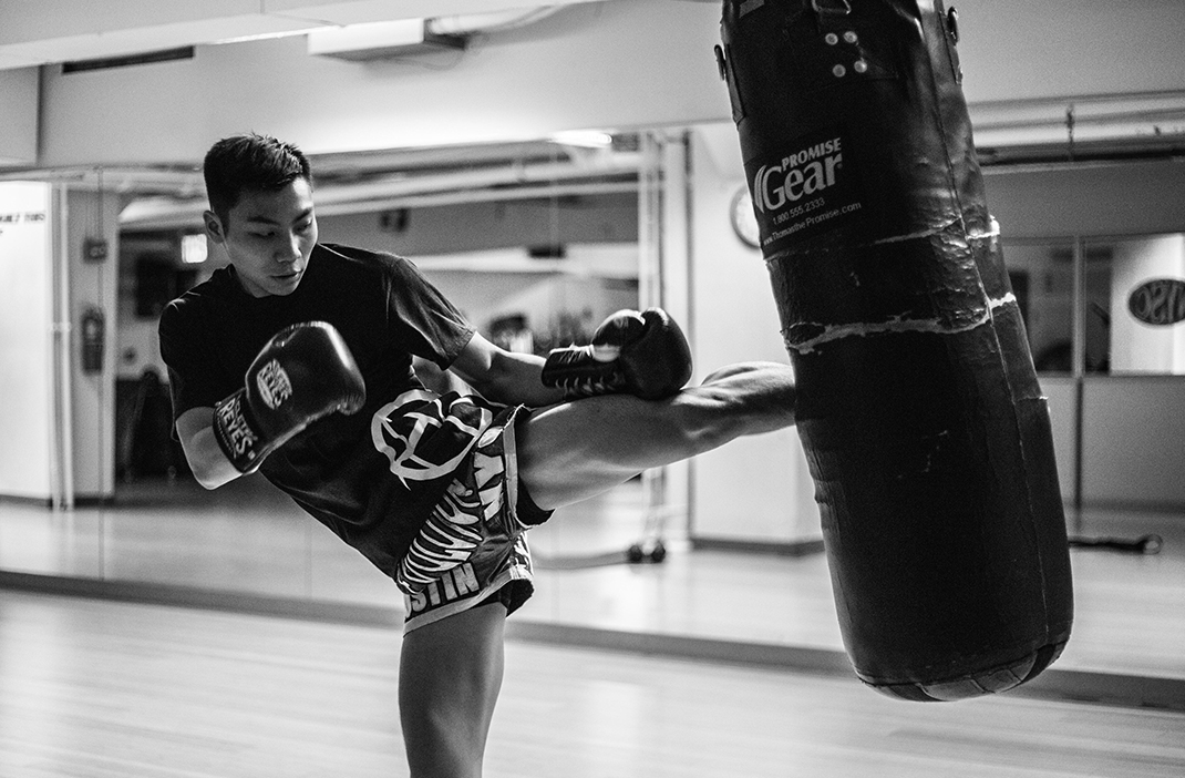 muay thai boxing, how to work out while travel