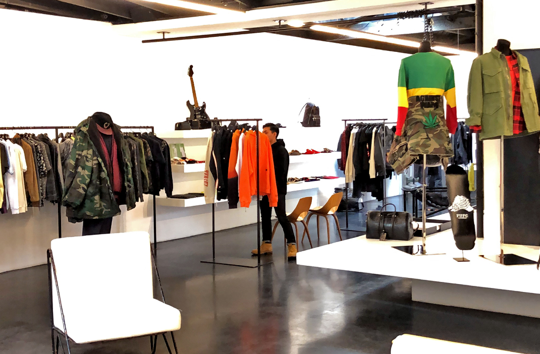 Maxfield West Hollywood, West Hollywood luxury menswear store