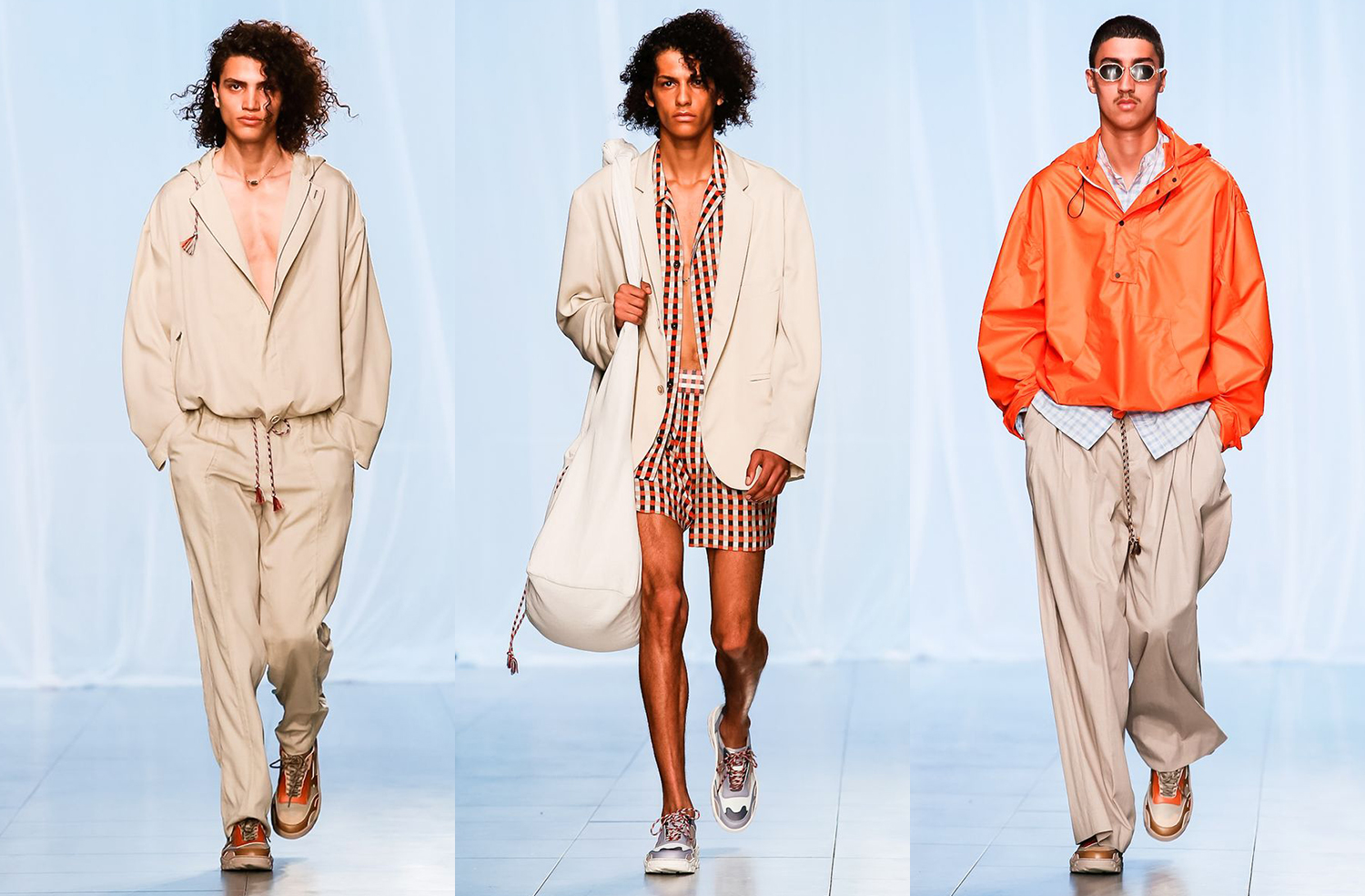 Qasimi Spring Summer 2019, LFWM SS19, London Fashion Week Men's