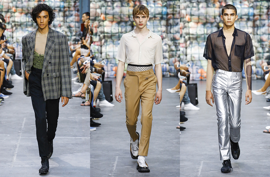 Cmmn Swdn Spring Summer 2019, Paris Fashion Week Mens