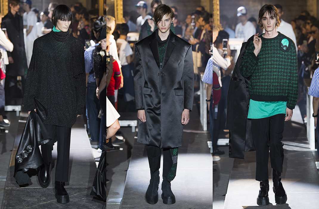 Raf Simons Spring Summer 2019, Paris Fashion Week Men's