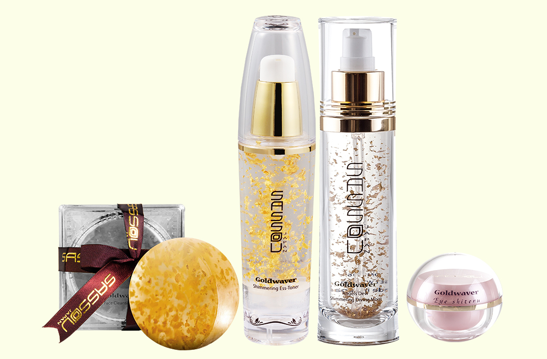 SASSOU JAPAN Goldwaver Anti-ageing Collection