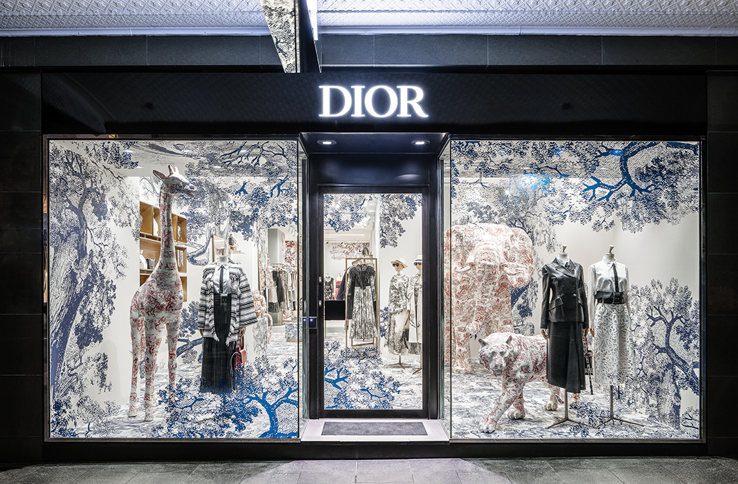 Dior Cruise 2019 Sydney Pop-up