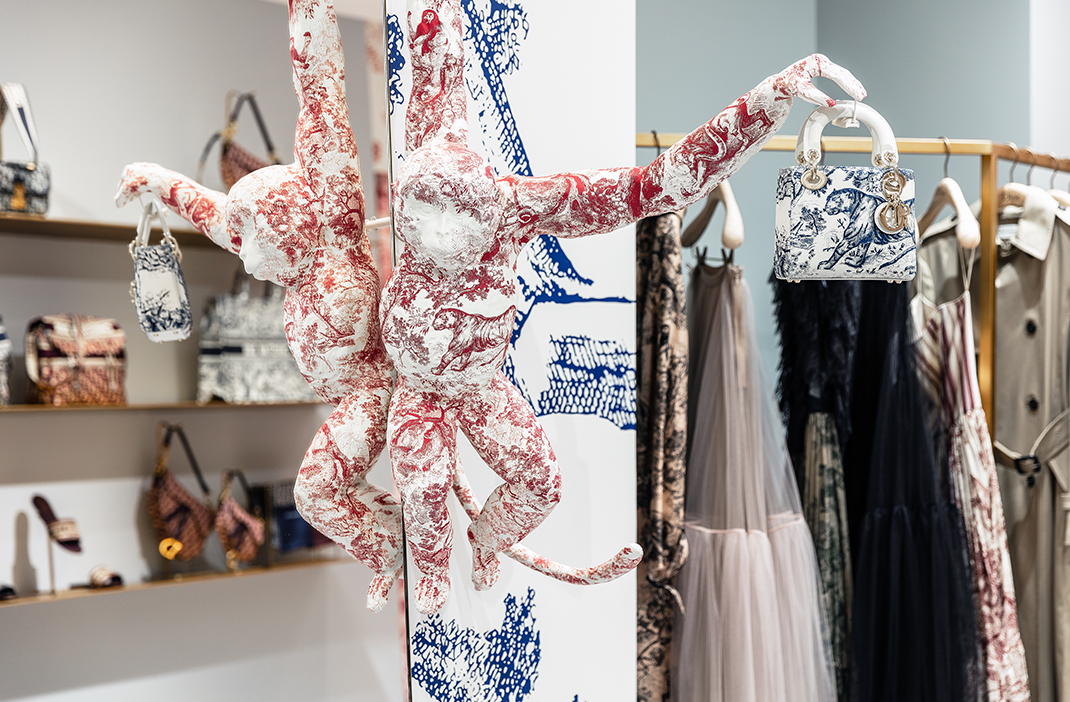 Dior Cruise 2019 Sydney pop-up store launch