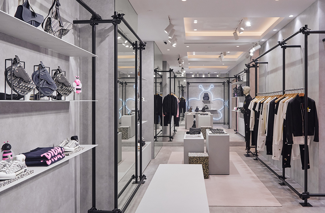 Dior Men's Summer 2019 Sydney pop-up store